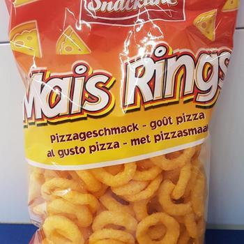 Snackline Mais Rings Pizza 125g